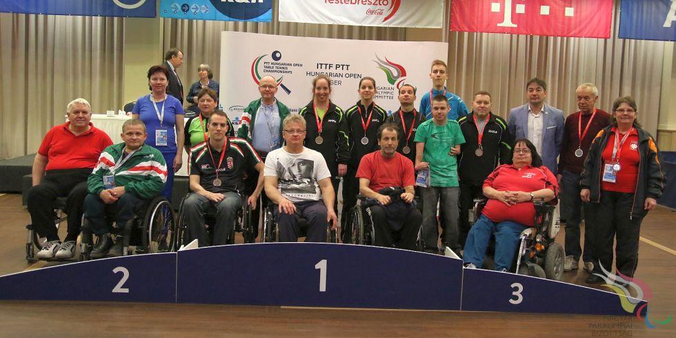 Tizenhét magyar érem az egri paraversenyen